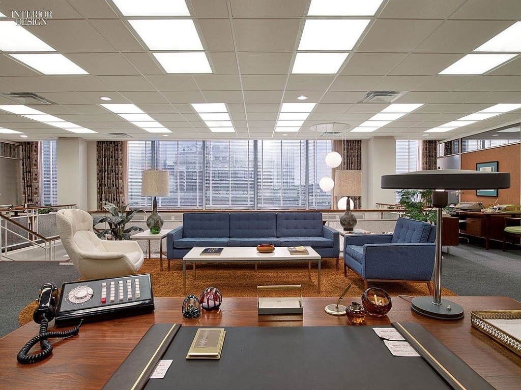 Mad Men Reception Area