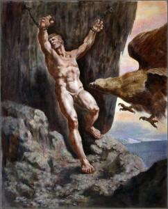 Prometheus, Handling Suffering